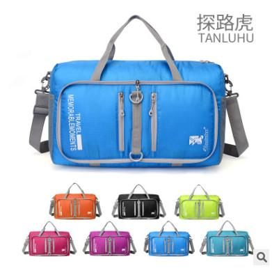 fa75d0db29 2019 Tanluhu 682 20L Outdoor Large Capacity Foldable Duffle Bag Gym  Traveling Luggage Pack Bag From Litchiguo