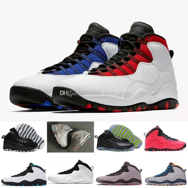 46a445074bae 2019 2018 10s Men Athletic Shoes 10 I M Back White Black Cool Grey Bobcats  Chicago Steel Grey Men Basketball Shoes Wholesale Drop Shipping From ...