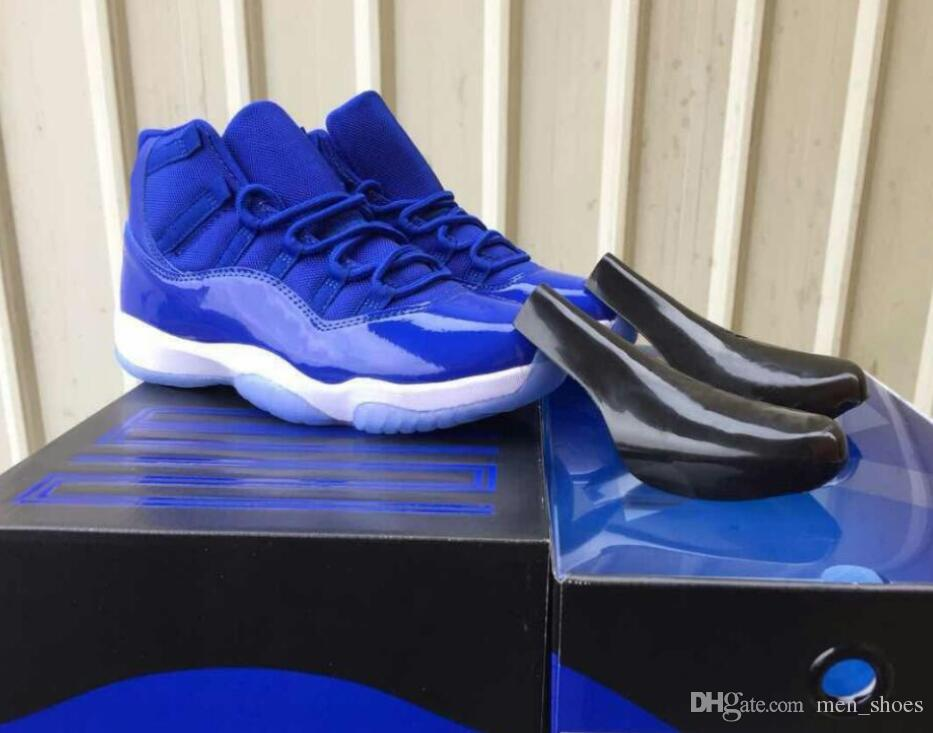 8f031d2ccd2 New 11 11s Royal Blue Basketball Shoes Men Women Royal Blue Black White Athletic  Sneakers High Quality With Shoes Box Discount Shoes Online Latest Shoes ...