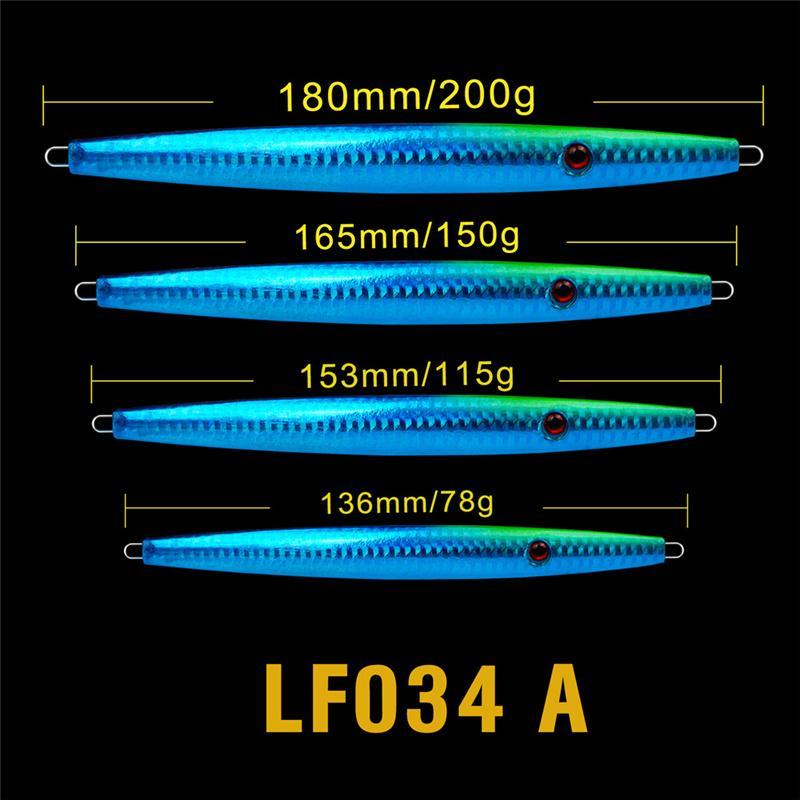 New Atificial Metal Jigs Iron Laser Fishing Baits 80g 120g 150g 200g Deep Swimming VIB Blades lure Spinner bait
