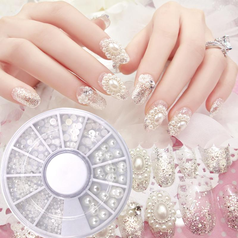1Box Bling Rhinestones For Nails Art Decoration Nail Art 3D Tips ...
