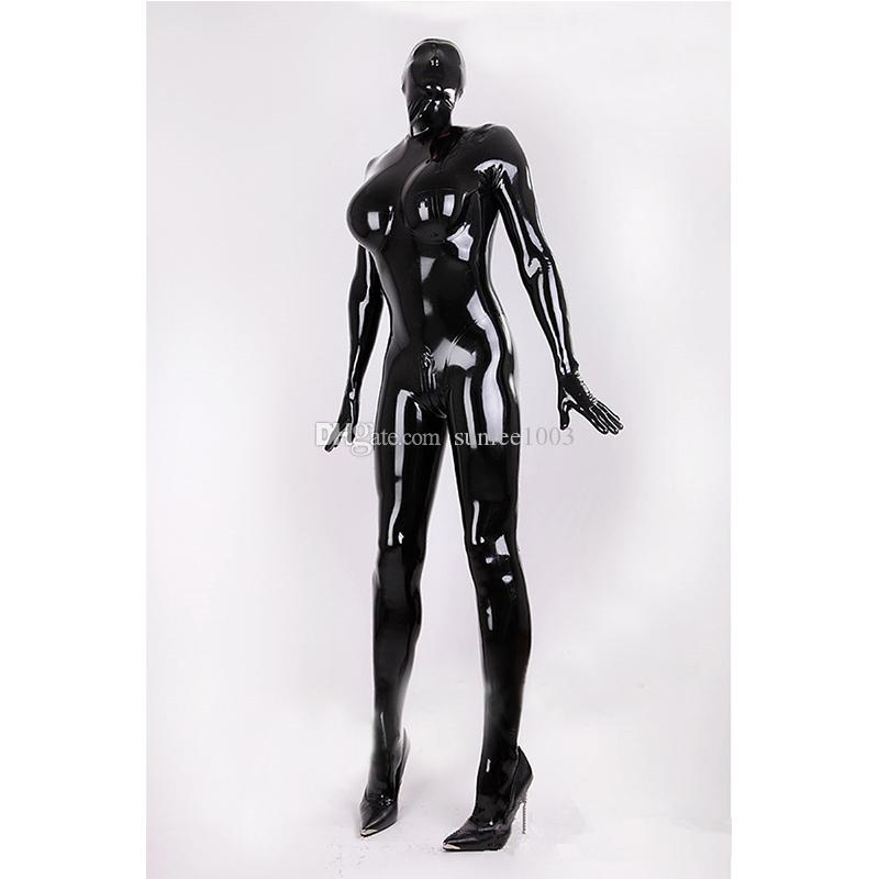 2018 New Hot Exotic Handmade Female Women Solid Color Latex Sexy Catsuits  with Corset Full Suit Fetish Uniform Tight Lingerie Costumes Latex Catsuit  Sexy ...