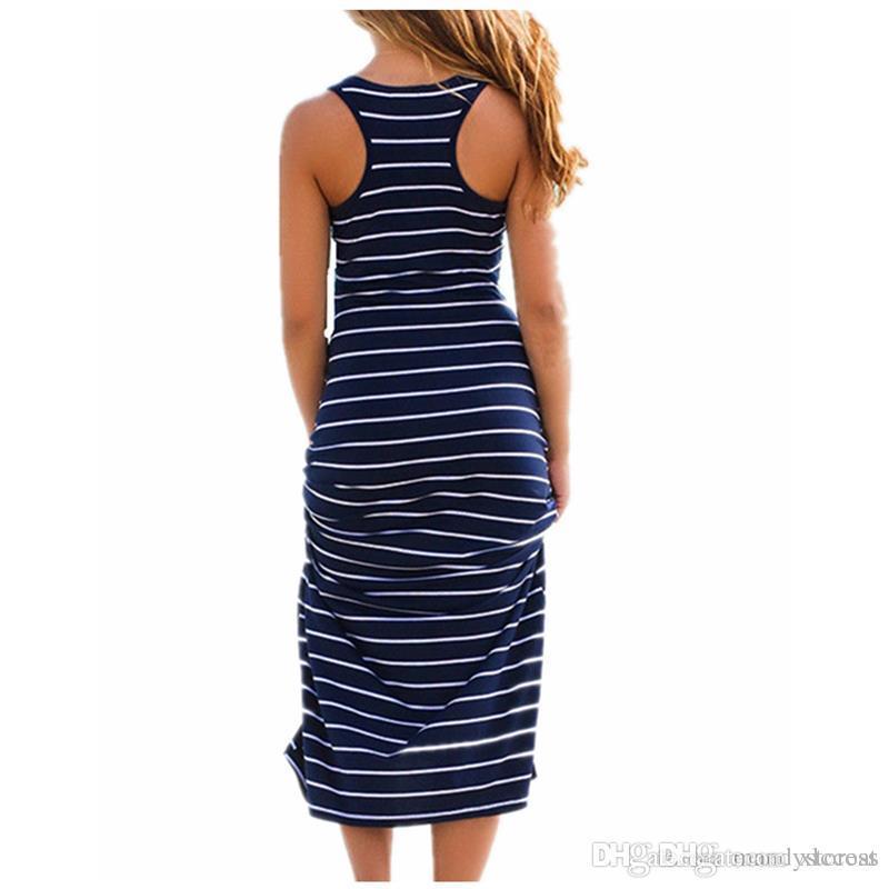 Plus Size Women Maxi Long Dress Summer Style Sexy Ladies Beach Vest ... 23b6320dd4f4