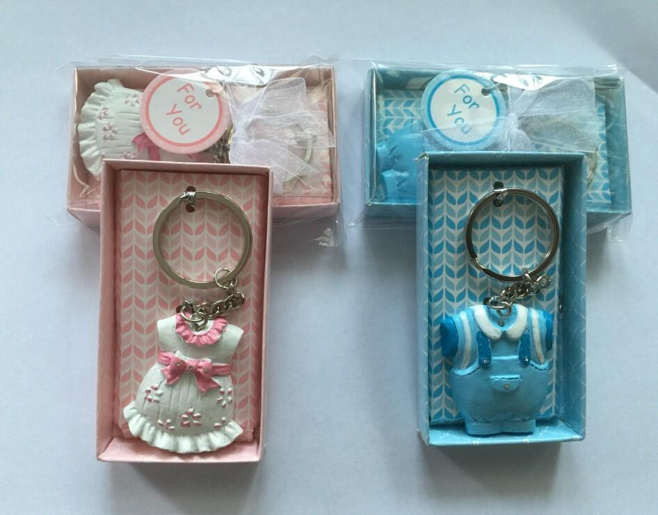 Shipping Dhl Baby Shower Favors And Gift Cute Baby Clothes Key Chain