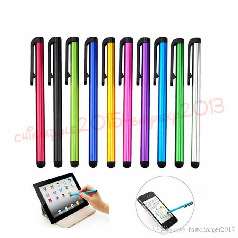 Kapasitif Ekran Stylus Kalem Dokunmatik Ekran Oldukça hassas Kalem İçin ipad Telefon iPhone Samsung Tablet Cep Telefonu