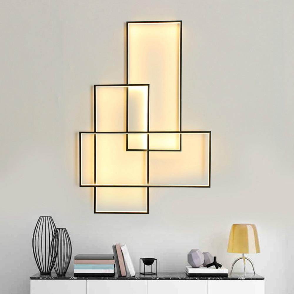 acheter applique murale led appliques design Éclairage rectangle