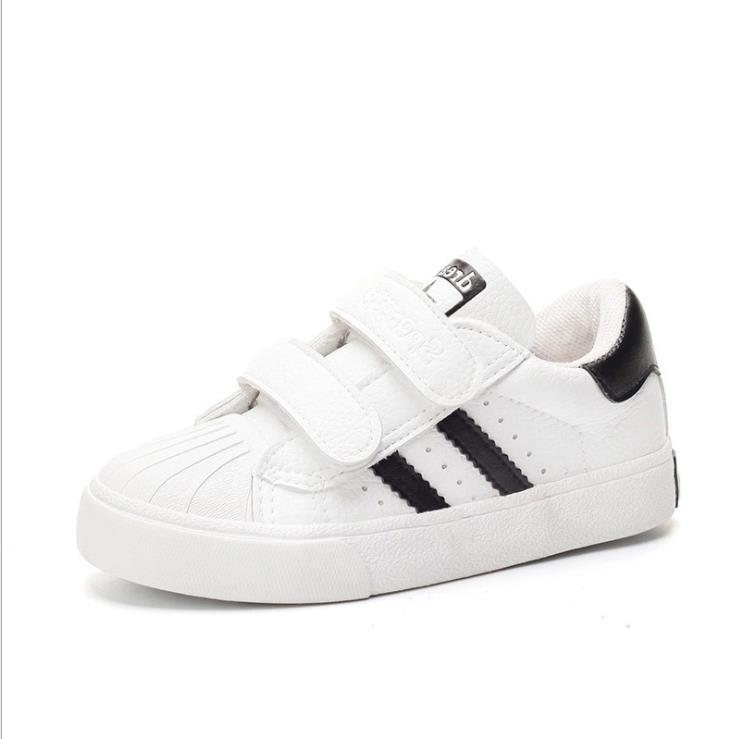 new product 68293 f66c3 2019 NEW STAN SMITH SNEAKERS CASUAL LEATHER Children shoes SPORTS JOGGING  SHOES kid s CLASSIC FLATS SHOES SUPERSTAR for kids 24-37