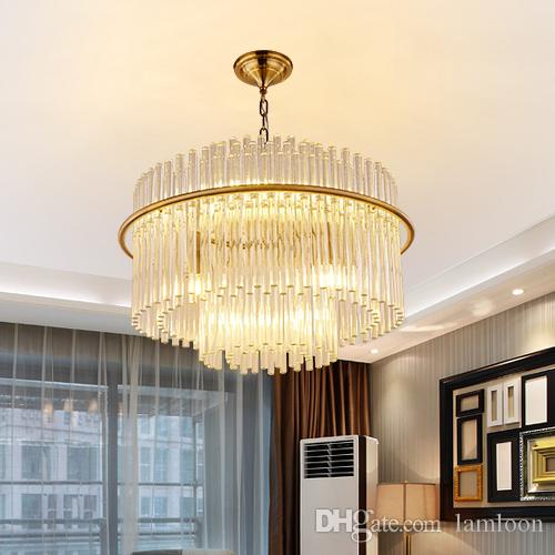 2ad45e2d0ac Post Modern Led Pendant Crystal Glass Chandeliers Lamps New Design Charming  Round Creative Pendant Lights Project Lamps Restaurant Hotel Moroccan  Pendant ...