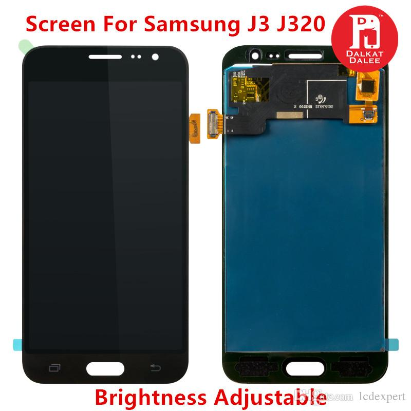 Luminosità regolabile TFT per Samsung Galaxy J3 LCD 2016 J320 J320M J320F J320H J320FN Display Touch Screen Digitizer Assembly Sostituzione