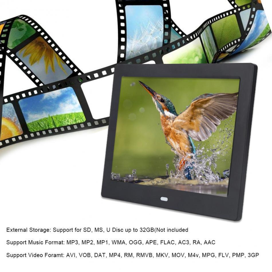 Großhandel 8inch Led Digital Bilderrahmen 1024 * 768 Auflösung ...