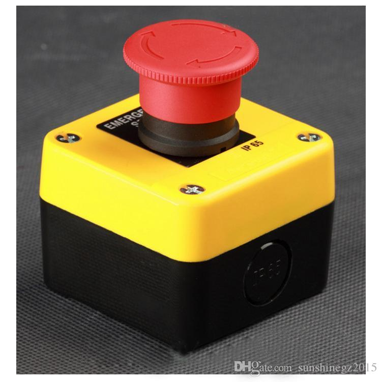 New high-quality 660V Red Sign Emergency Stop Push Button Switch IP65 Waterproof Switch XB2 NB2 ES542