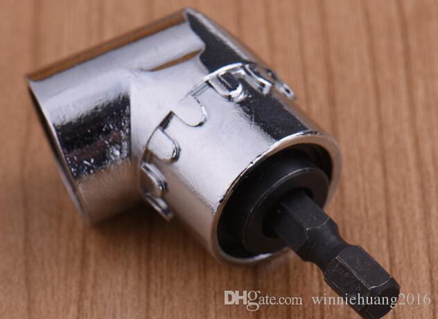 "High Quality 105 Degree 1/4"" Extension Hex Drill Bit Adjustable Hex Bit Angle Driver Screwdriver Socket Holder Adaptor Tools"