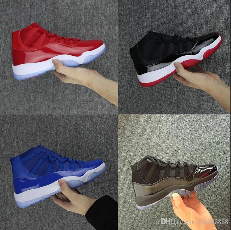 the latest ddcca 7dced Acquista NIKE Air Jordan 11 Retro J03 4 11 Space Jam Sneakers OG Prom Night  Blackout Gamma Nero Scarpe Casual Da Uomo Donna J11 XI 11s PRM Heiress Blu  ...