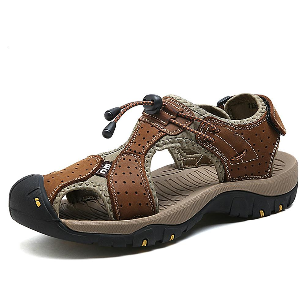 free shipping 32bb7 3300e ALCUBIEREE Outdoor Sports Sandalen atmungsaktive Sommerschuhe für Herren  Strandschuhe für Männer Strandschuhe Sandalen Hausschuhe Zapatos