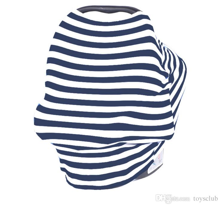 INS Bébé Siège De Voiture Canopy Cover Allaitement Allaitement Écharpe Cover Up Tablier Shoping Infant Poussette Sleep Buggy Canopy