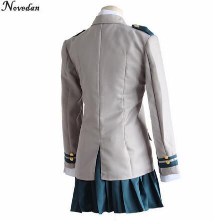 Mein Held Ochaco Uraraka Schuluniform Cosplay Kostüme Boku kein Anime Held Academia Midoriya Izuku Baku Katsuki