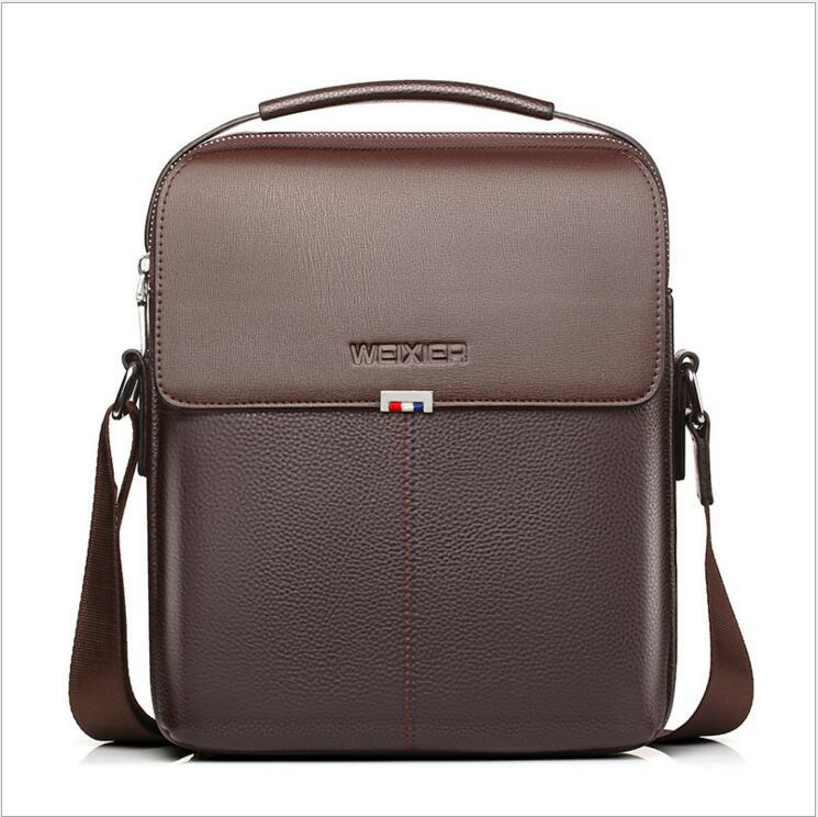 Brown Leather Bags For Man Business Briefcases Fashion Men S