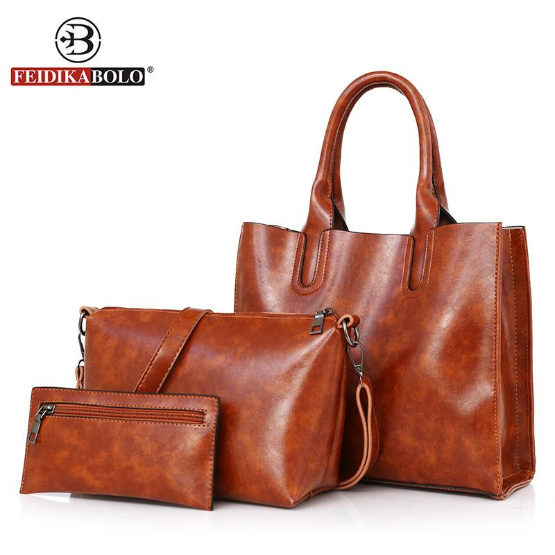 6998d49a36 Leather Women Handbag Female High Quality Luxury Handbags Women Bags  Designer 2018 Vintage Brown Causal Totes And Purse Womens Purses Leather  Bags For Men ...