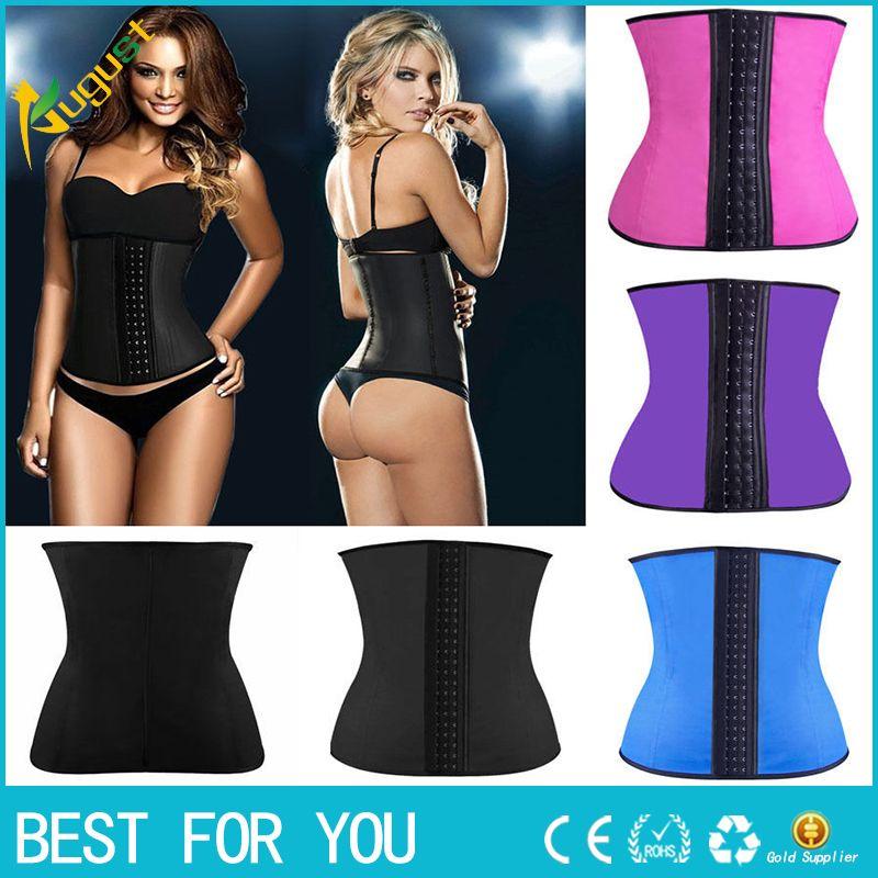 c7a92b7c0 Corset Slim Belt Bodysuit Women Waist Trainer Slimming Shapewear ...
