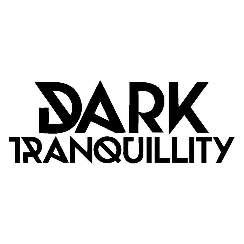 Dark tranquillity vinyl decal car window laptop death metal band logo sticker car sticker car styling vinyl decals jdm personality fashion motorcycle cute