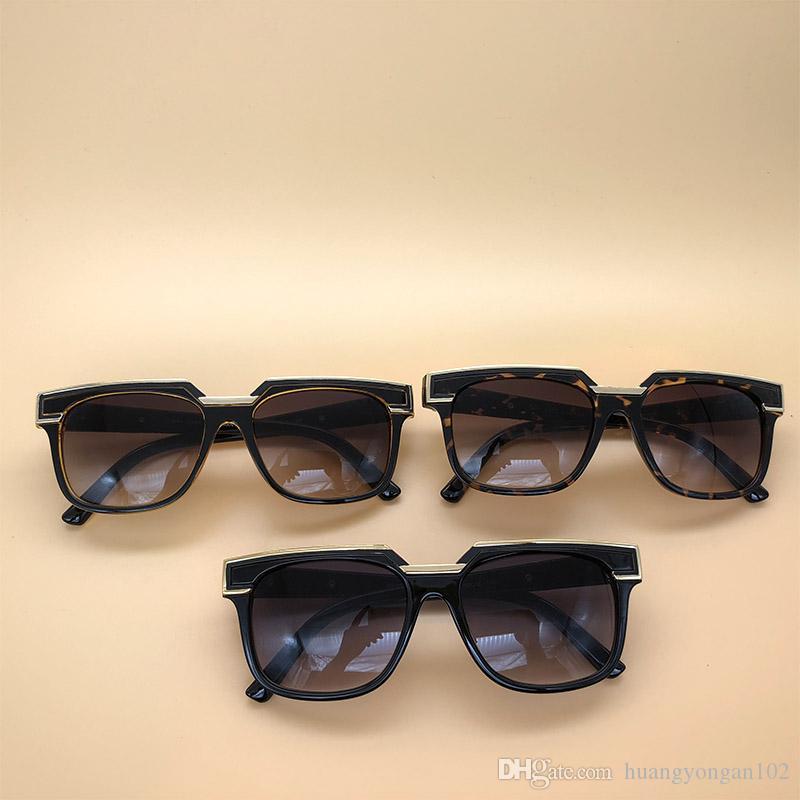 be1dde3f64 Compre Gafas De Sol Luxury Eyewear Legends Black Frame Gradient Lenses  Alemania Gafas Vintage Marco Cuadrado Con La Caja 1617 A $17.06 Del  Huangyongan102 ...