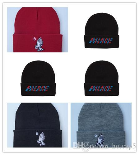 046a823dcc2 New Design Drake 6 God Beanie Hats Knitted Wool Caps Hip-hop Hats Beanies  Embroidered Skull Hats Men Women Winter Wool Cap Snapback Hat Online with  ...