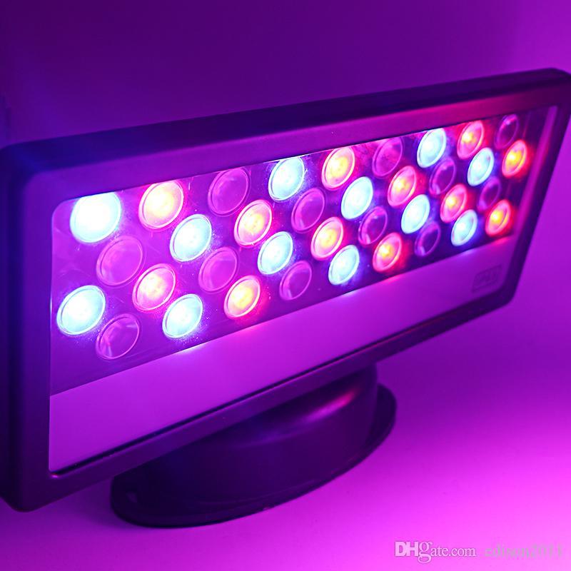 Edison2011 1 шт. Buidling стены мыть 36 Вт AC 85-265 в RGB открытый DMX512 светодиодный прожектор DHL доставка