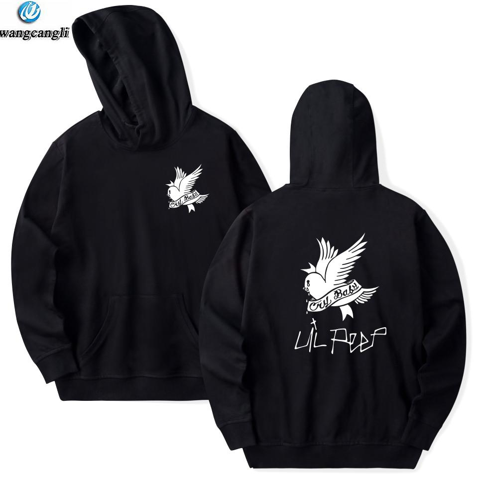 f0f2509eb7833 2019 Lil Peep LOVE Hell Boy Hoodie Sweatshirt Men Women Casual Pullover Hip  Hop Lil Peep Rapper Hoodies Hipster Hoody From Sikaku, $31.57 | DHgate.Com