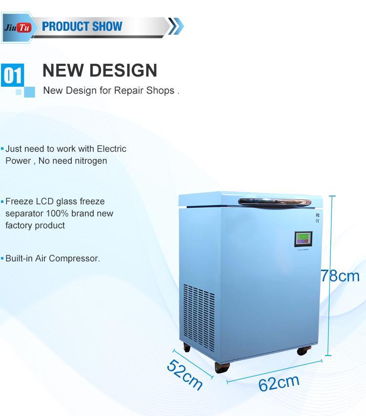 -190 LCD Touch Screen Grado Congelamento Separator Macchina Cracked Screen bordo S8 S8 S10 con sostituzione telaio
