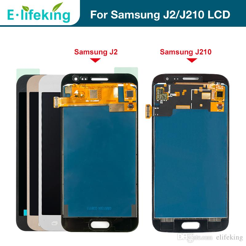 LCD Replacement For Samsung Galaxy J2 J200 2015 and J210 2016 LCD Display  Touch Screen Digitizer Assembly For Samsung J200F J200M J200H