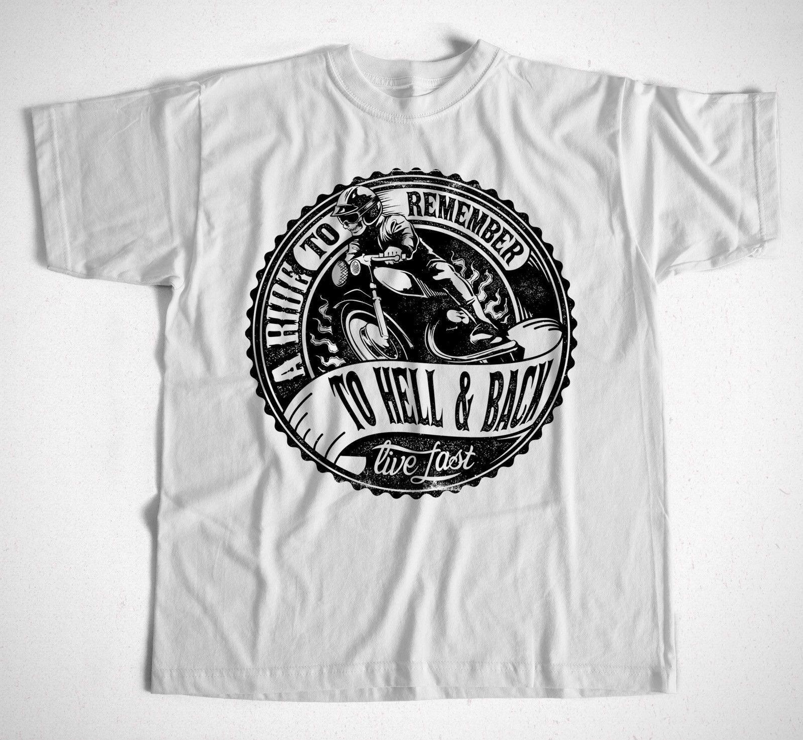 a8ace56bd T-Shirt 73 S-4XL CafeRacer Route 66 Biker Custom Motorcross Motorrad Kult  Rocker Online with  13.15 Piece on Notkillape s Store