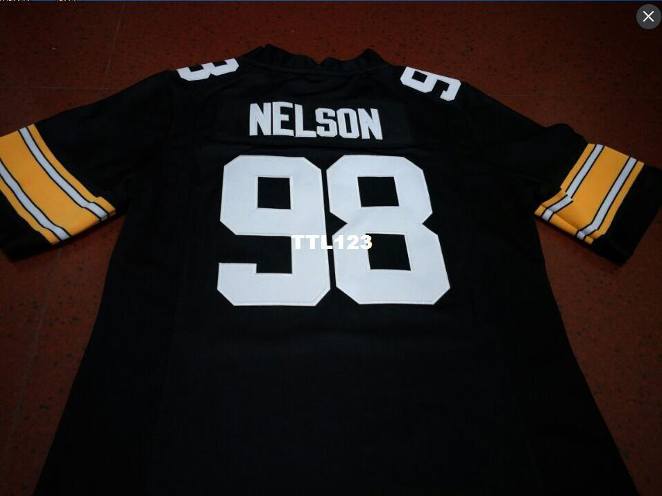 premium selection ba47c 2e215 Men #98 Anthony Nelson Iowa Hawkeyes Alumni College Jersey S-4XLor custom  any name or number jersey