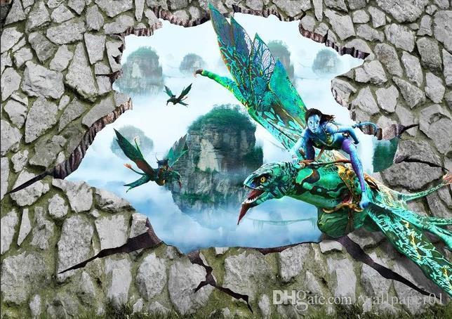 outdoor desktop backgrounds. Floor Painting 3d Wallpaper Outdoor Avatar Magic Stereo Wall Self Adhesive Pvc Desktop Backgrounds Wallpapers