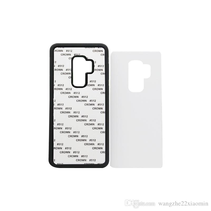 Wholesale for iPhone 8 8 Plus DIY Blank 2D Sublimation Phone Cover With Glue and Aluminum Sheet
