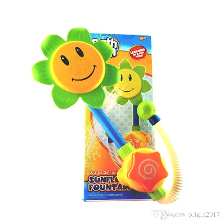 Best Baby Bath Toys Children Sunflower Shower Faucet Water Bath Toy ...