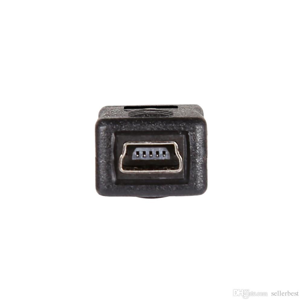 Mini USB Macho para Micro USB Feminino B Tipo Carregador Adaptador Conversor Conversor