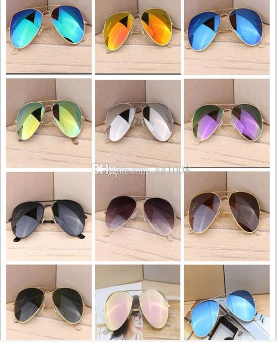 Luxury brands sell like hot cakes products half frame sunglasses female male master ban sunglasses in the outdoor club bain driving glasses