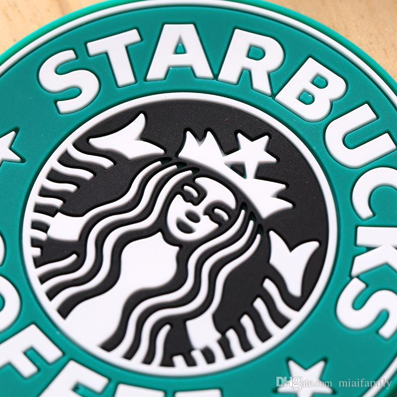 il 2017 nuovo Silicone Sottobicchieri Coppa termosupporto Titolare Starbucks mare-cameriera caffè Sottobicchieri Tazza Tappetino