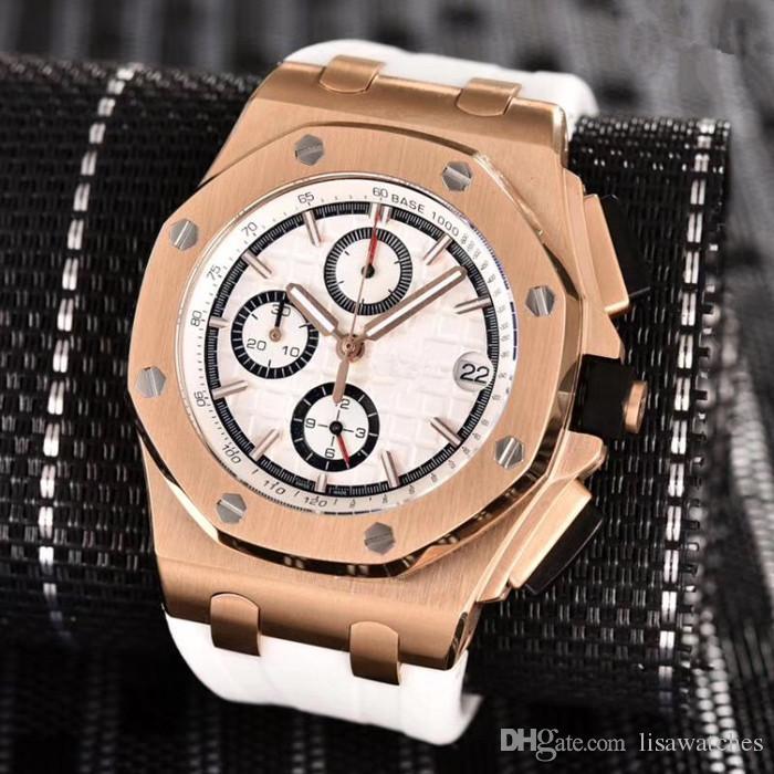 4bd44db7659 Compre 2018 Aaa Novo Gravado Relógio De Luxo De Superfície De Ouro ...