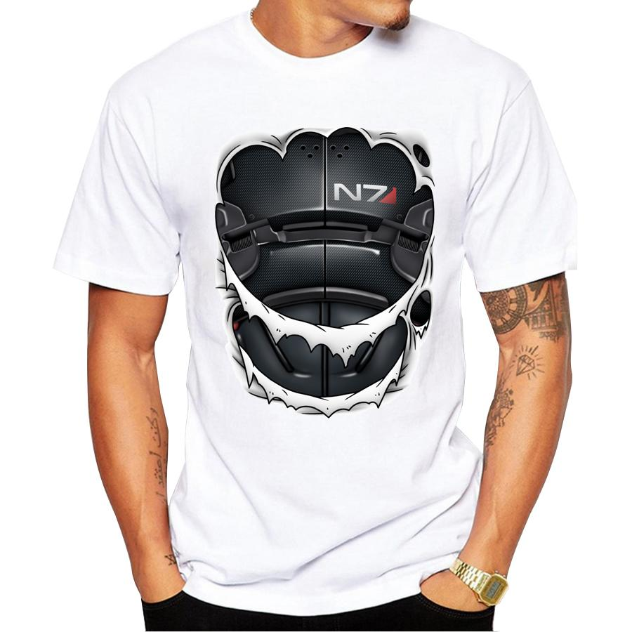 Newest Fashion Printed Pathfinder Armor Design 2018 Summer Men Short Sleeve  T Shirt Brand Clothing Comfortable Men's T-shirts