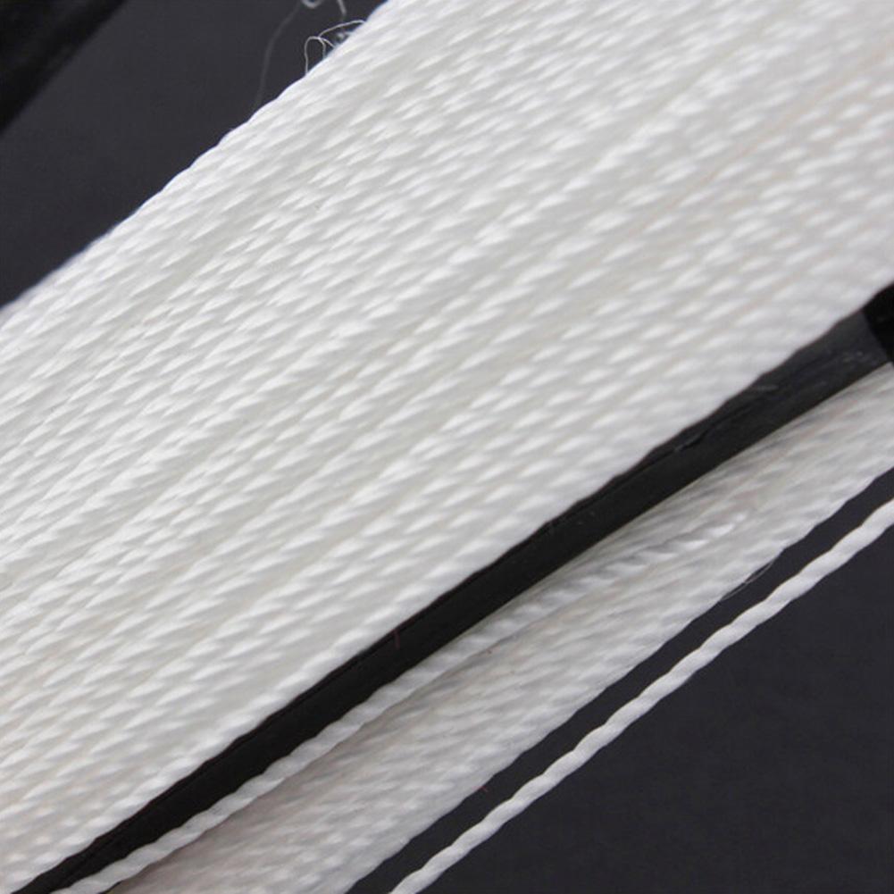 100M Flying Kite Line D Shape Plastic Polyester White Line Board Flying Kites Line Flying Accessories