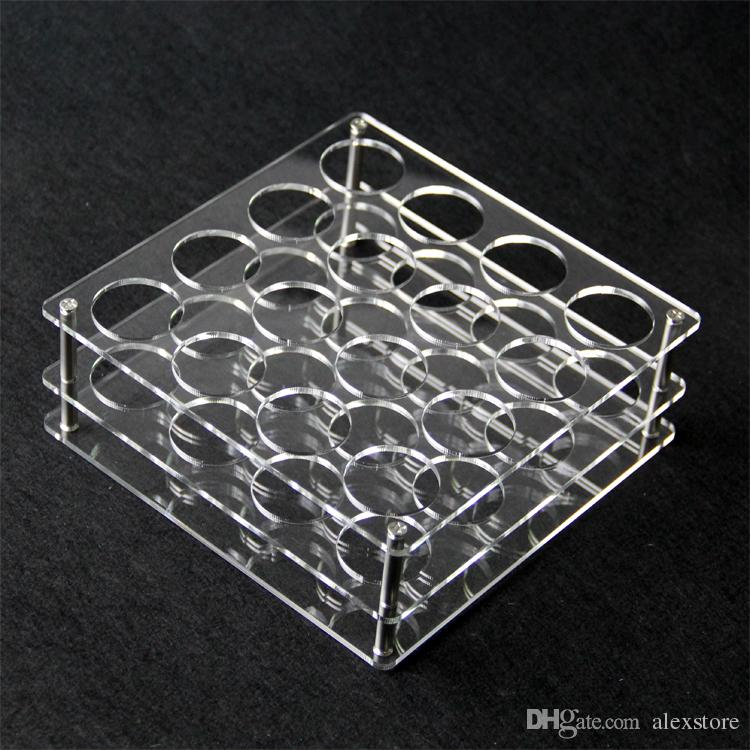 Acrylic display clear stand shelf holder vape rack show case for or 60ml chubby plastic bottles e liquid eJuice bottle DHL