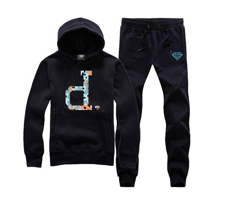 2018 nuevo otoño Marca Diamond hombres negros sudaderas con capucha de Hip Hop sudaderas con capucha masculina ropa de moda Moleton S-XXXL 03