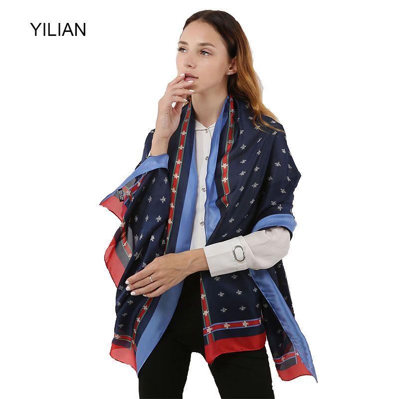 Großhandel Yilian Marke Animal Bee Grundmuster Temperament Silk ...