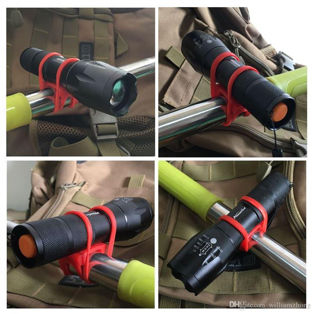 AloneFire E17 LED Flashlight Zoomable LED Torch xml T6 5000LM led Focus zoom light for Dry cell ro 18650 Battery Household flashlight