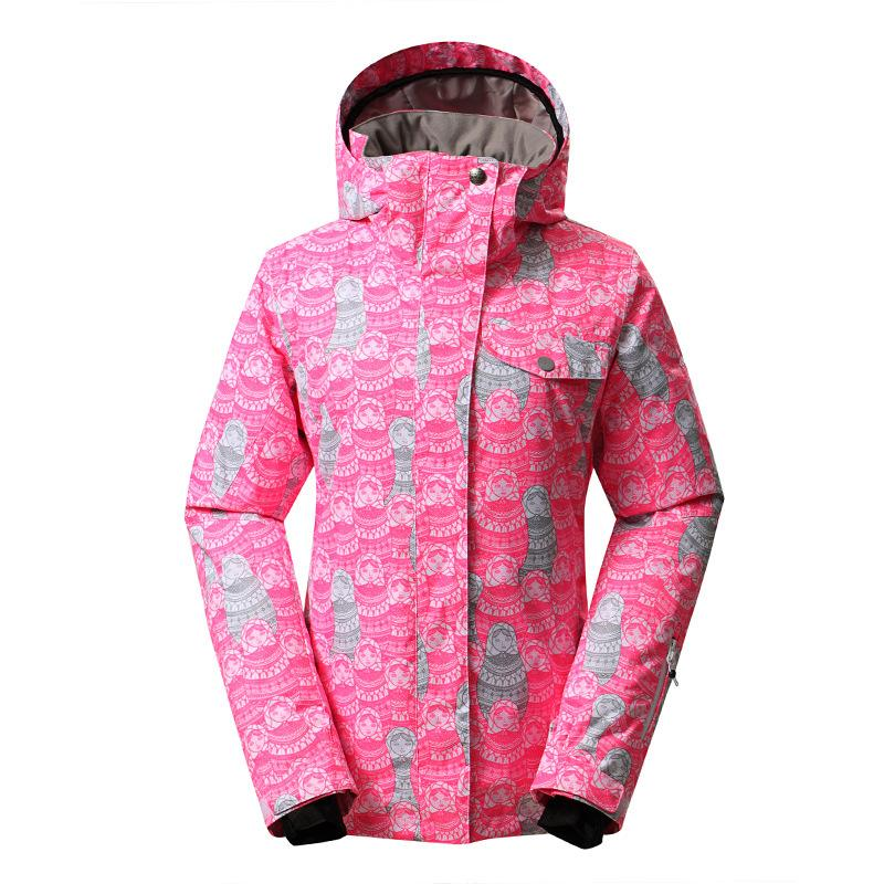 ba83bccbd8 MS GSOU SNOW Ski Suit Outdoor Winter Windproof Warm Waterproof Breathable Single  Double Board Ski Jacket For Women Size XS-L Skiing Jackets Cheap Skiing ...