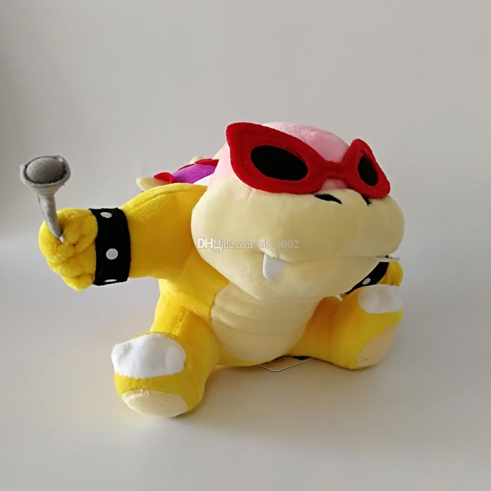 "Hot Sale 8"" 20cm Super Mario Bro Koopaling Roy Koopa Plush Toys Stuffed Soft Toys For Child Gifts"