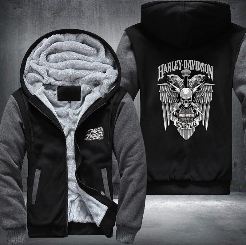 6552b9fadb961 2019 New Harley Winter Jackets And Coats Fate Zero Hoodie Anime Hooded  Thick Zipper Men Sweatshirts USA Size From Crutchline, $58.88 | DHgate.Com