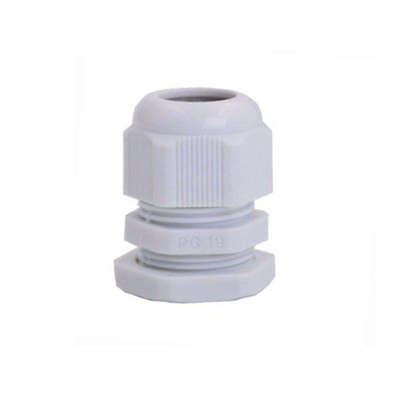 Pressacavi Suyep PG19 Nero Bianco Impermeabile Connettori in nylon regolabili Giunti con guarnizioni 12-16mm apparecchi elettrici