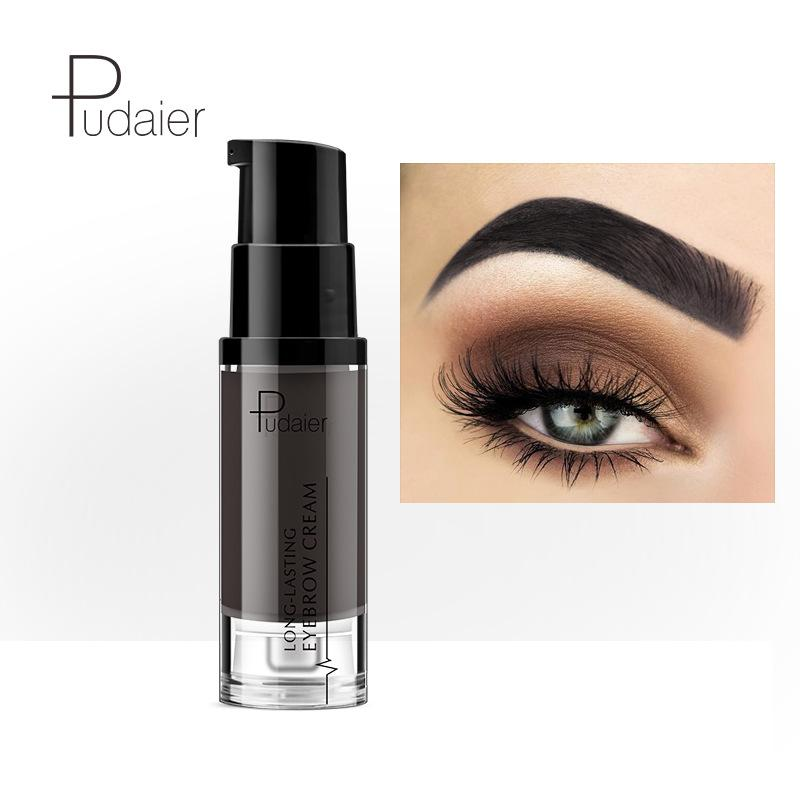 Pudaier Henna Eyebrow Dye Gel Waterproof Makeup Shadow For Eye Brow